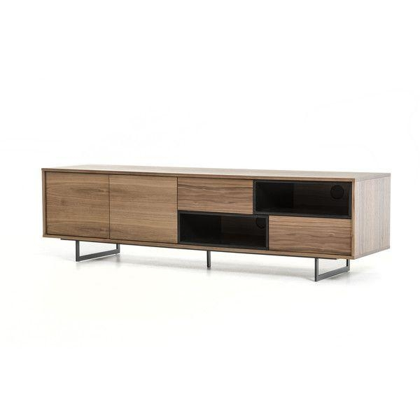 57 Best Tv Stands For Plasma And Lcd Flat Screen Images On For Most Recent Dark Walnut Tv Stands (Image 3 of 20)