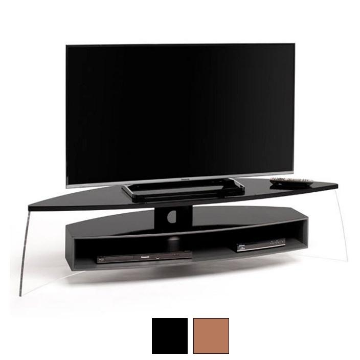 "59"" Air Curve Tv Stand - Nest&home intended for Current Curve Tv Stands"