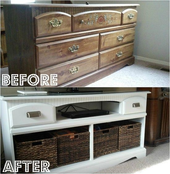 59 Best Home Images On Pinterest | Home, Diy And Organization Ideas Intended For Most Popular Tv Stands With Baskets (Image 2 of 20)