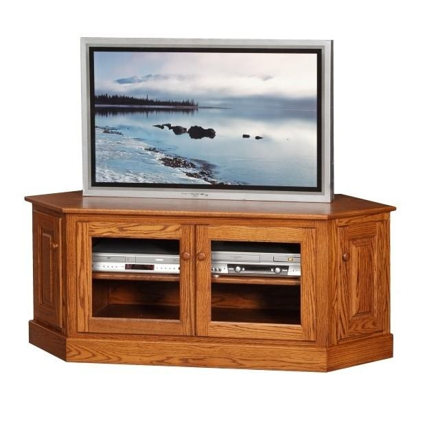 "60"" Low Corner Tv Stand - Town & Country Furniture throughout 2017 Low Corner Tv Cabinets"