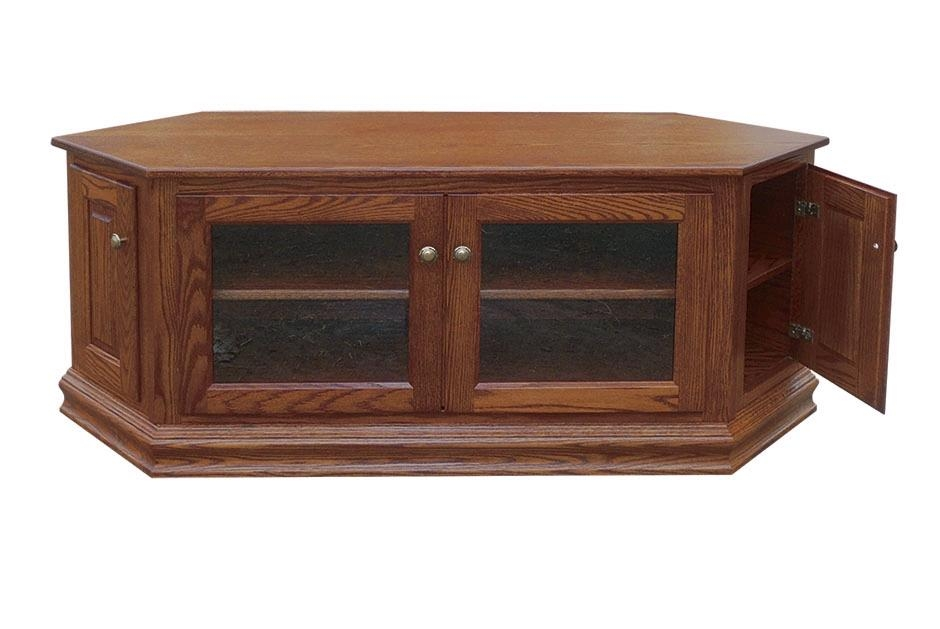 "60"" Low Corner Tv Stand – Town & Country Furniture Within Most Up To Date Low Corner Tv Cabinets (Image 1 of 20)"