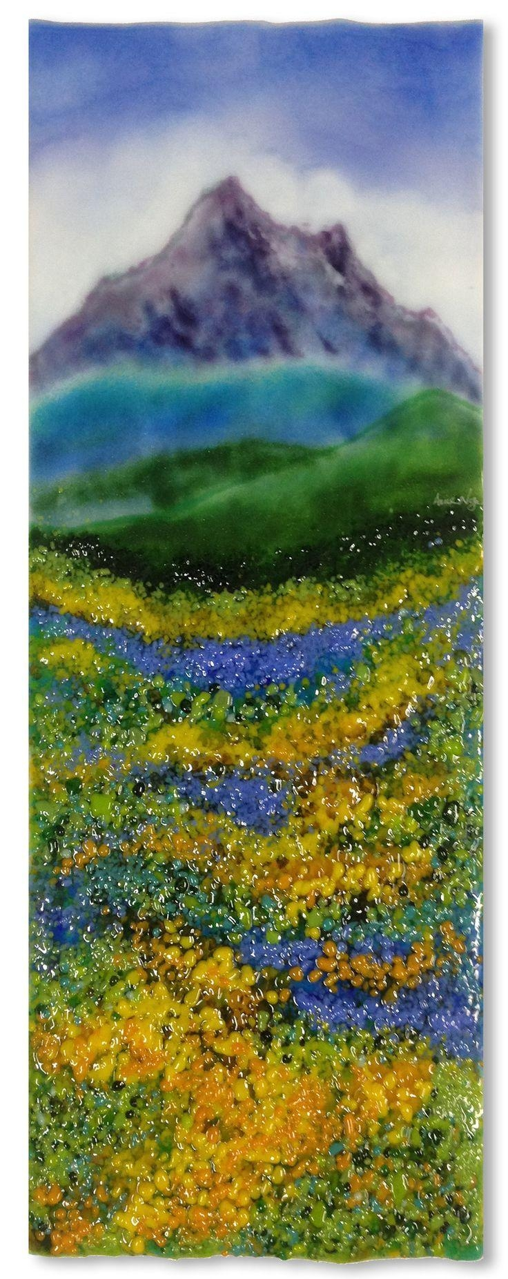 604 Best Glass Fusing Images On Pinterest | Stained Glass, Fused intended for Fused Glass Wall Art Devon