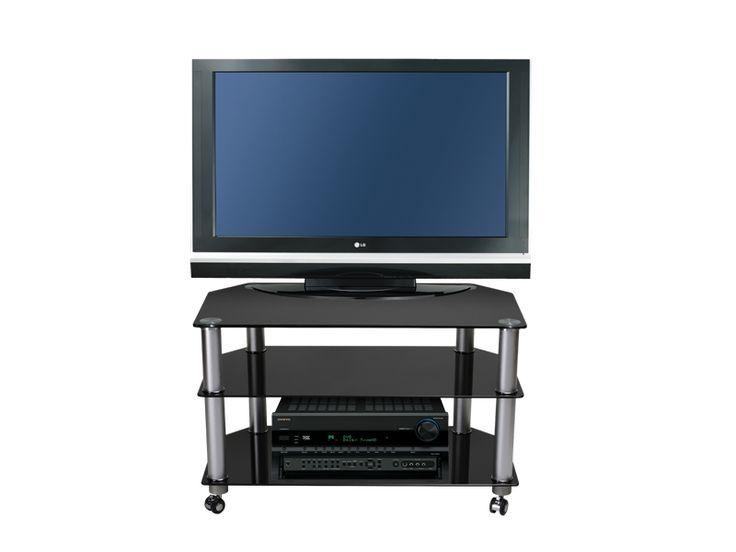 61 Best Black Glass Tv Stands Images On Pinterest | Cable with regard to Most Recent Stil Tv Stands
