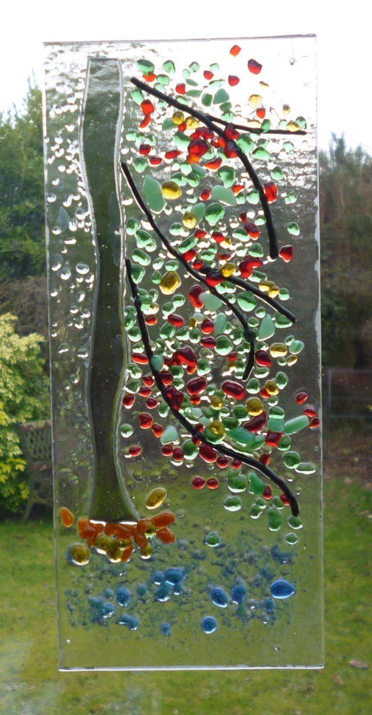 6190 Best Fused Glass Images On Pinterest | Fused Glass, Stained with regard to Fused Glass Wall Art By Frank Thompson
