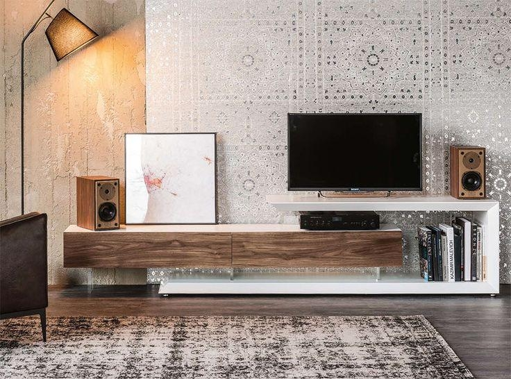 63 Best Tv Komoda Images On Pinterest | Tv Walls, Tv Units And With Regard To Most Recent Modern Design Tv Cabinets (Photo 3900 of 7746)