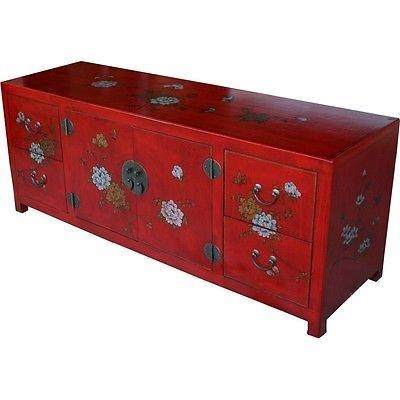 64 Best Chinese Funiture Images On Pinterest | Chinese, Antique With Regard To Newest Red Tv Units (Image 2 of 20)
