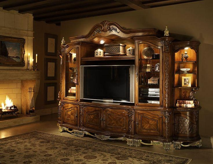 64 Best Entertainment Center Images On Pinterest | Entertainment Pertaining To Most Recently Released Traditional Tv Cabinets (View 2 of 20)