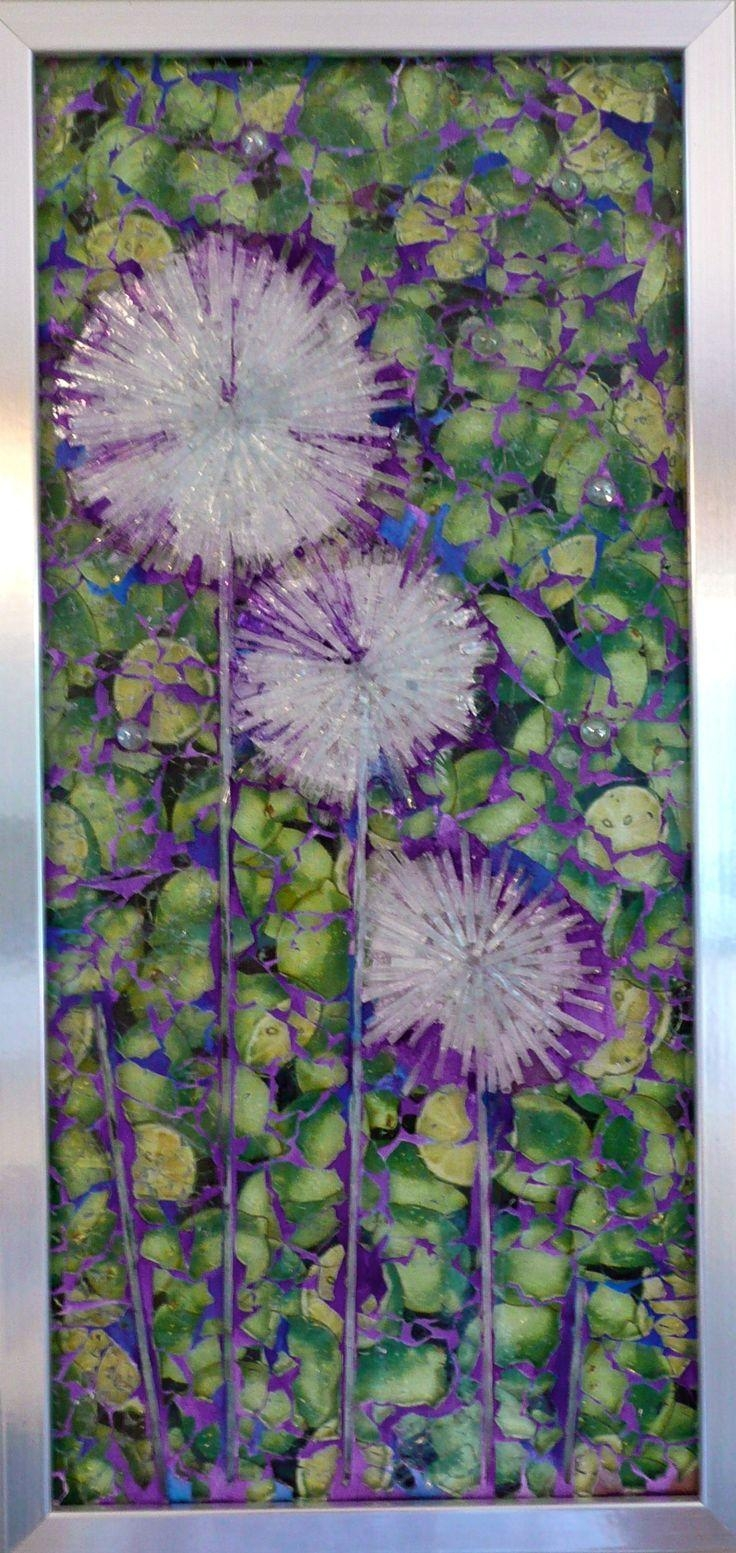 64 Best My Stained Glass Work Images On Pinterest | Stained Glass in Purple Fused Glass Wall Art