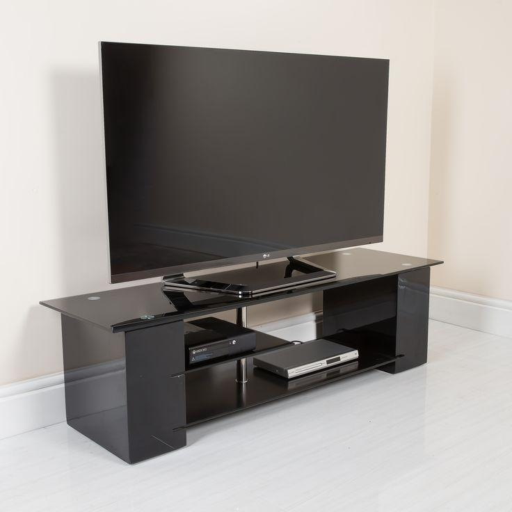 65 Best Modern Tv Stands Images On Pinterest | Modern Tv Stands with regard to Most Recent Shiny Black Tv Stands