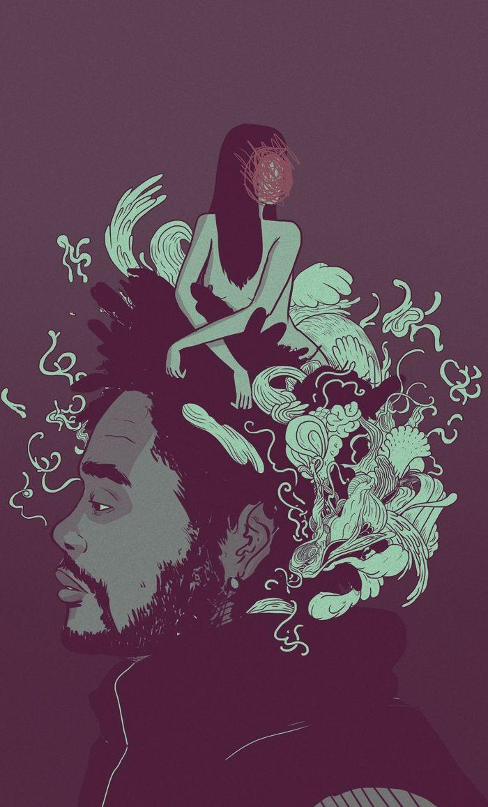 7 Best The Weeknd Images On Pinterest   The Weeknd, Dope Art And with The Weeknd Wall Art