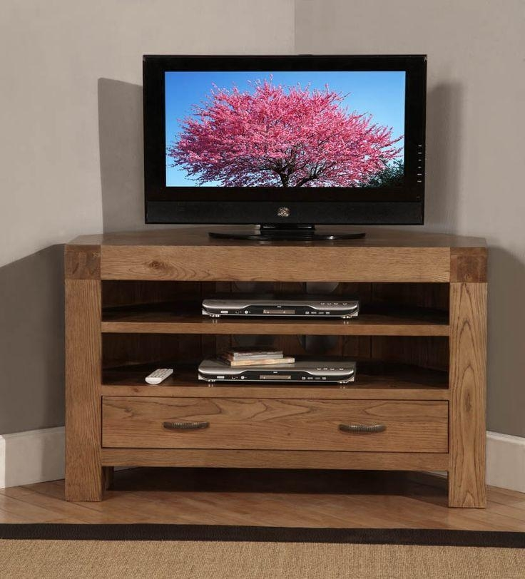 7 Best Tv Stand Images On Pinterest | Corner Tv Cabinets, Corner within Current Santana Oak Tv Furniture
