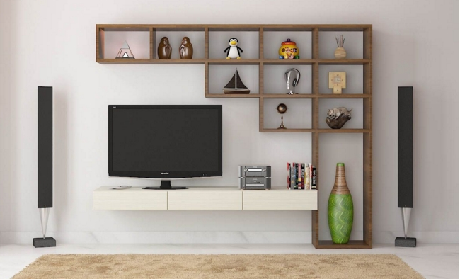 7 Cool Contemporary Tv Wall Unit Designs For Your Living Room throughout Newest Contemporary Tv Wall Units