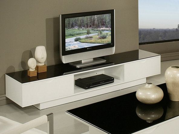 7 White Tv Stands For Your Living Room - Cute Furniture within Most Current White Modern Tv Stands