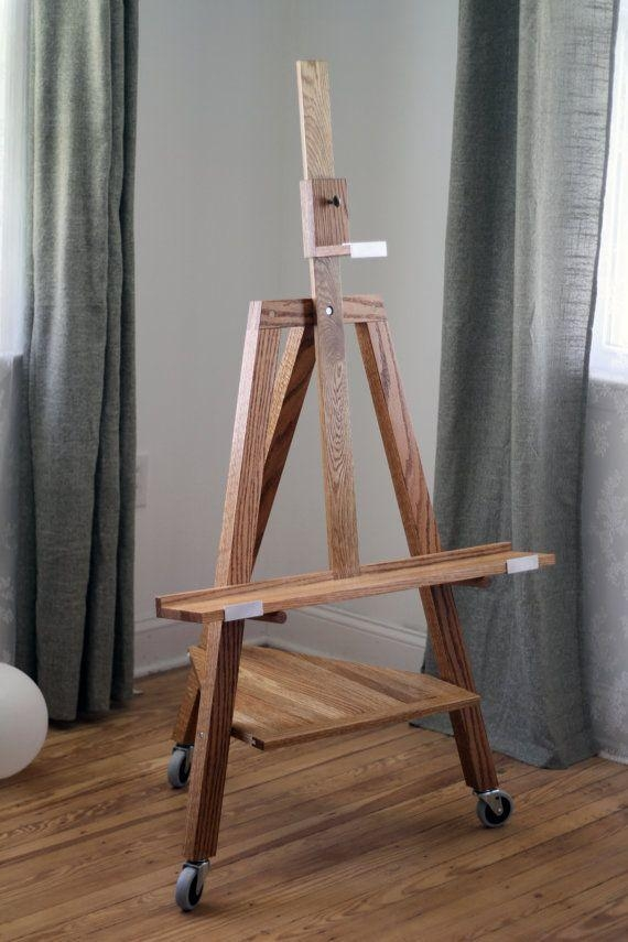 8 Best What To Do With Tv Images On Pinterest | Easels, Flat Inside Most Popular Wood Tv Floor Stands (View 2 of 20)