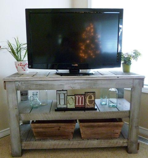 83 Best ***diy Tv Stand*** Images On Pinterest | Diy Tv Stand for Most Current Cheap Rustic Tv Stands
