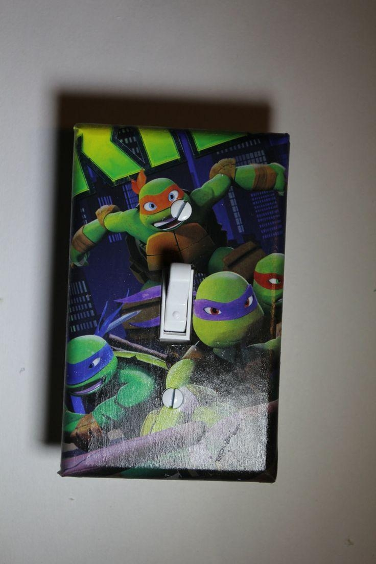 9 Best Eli's Ninja Turtle Room Images On Pinterest | Ninja Turtle Intended For Tmnt Wall Art (Image 1 of 20)