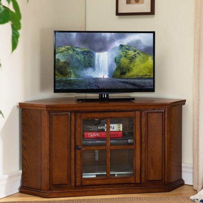 9 Best Tv Stands Images On Pinterest | Corner Tv Stands, Media For 2017 Wayfair Corner Tv Stands (View 20 of 20)
