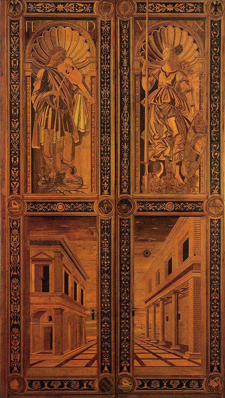 96 Best Intarsio Images On Pinterest | Marquetry, Woodworking And within Italian Inlaid Wood Wall Art