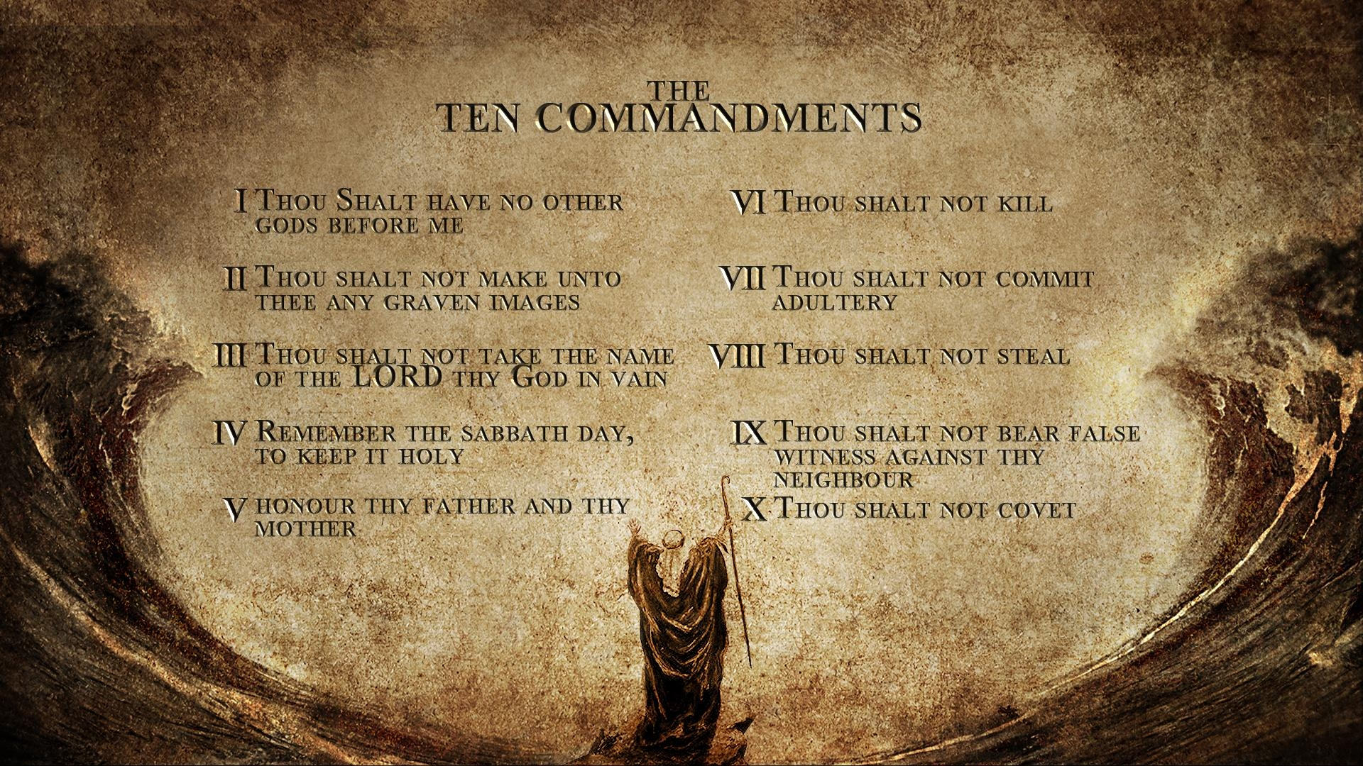 A List Of The Laws Of Yahweh | Yahweh Is Truth With Regard To 10 Commandments Wall Art (Image 2 of 20)