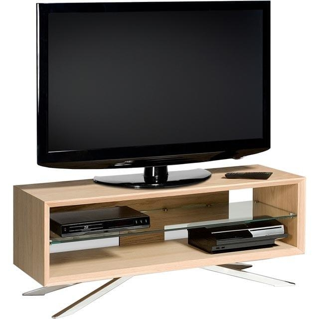 Aa110Lw | Techlink Tv Stand | Light Oak | Ao For Most Recently Released Techlink Arena Tv Stands (Image 1 of 20)