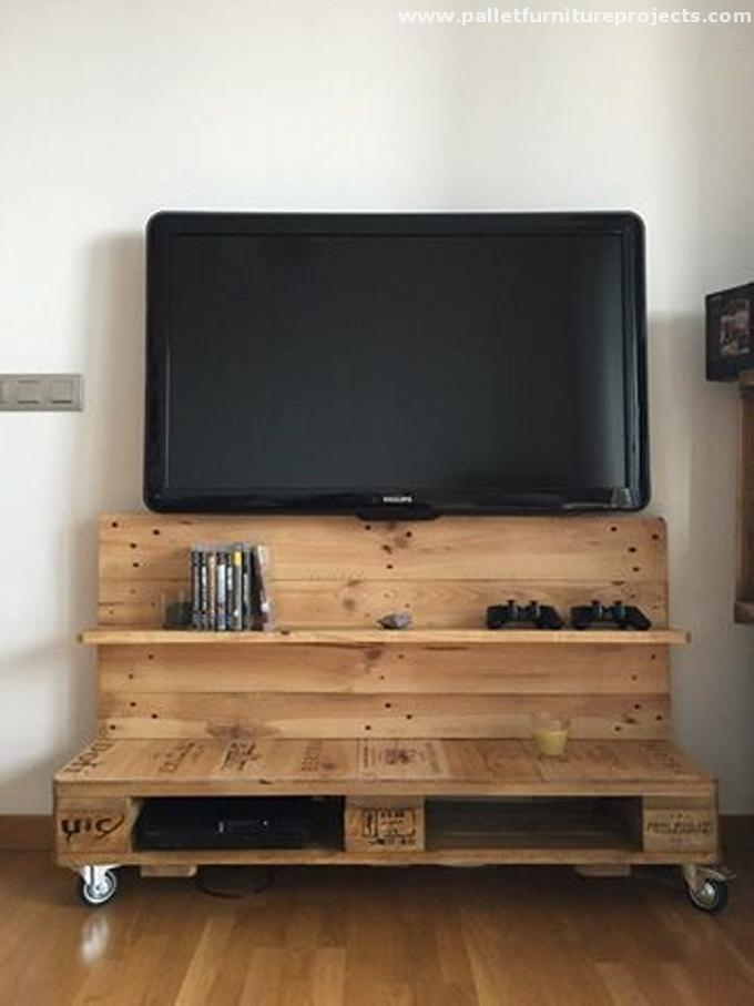 Exceptionnel 20+ Amazing Images Diy Pallet Tv Stand Plans: Make With Latest Wooden