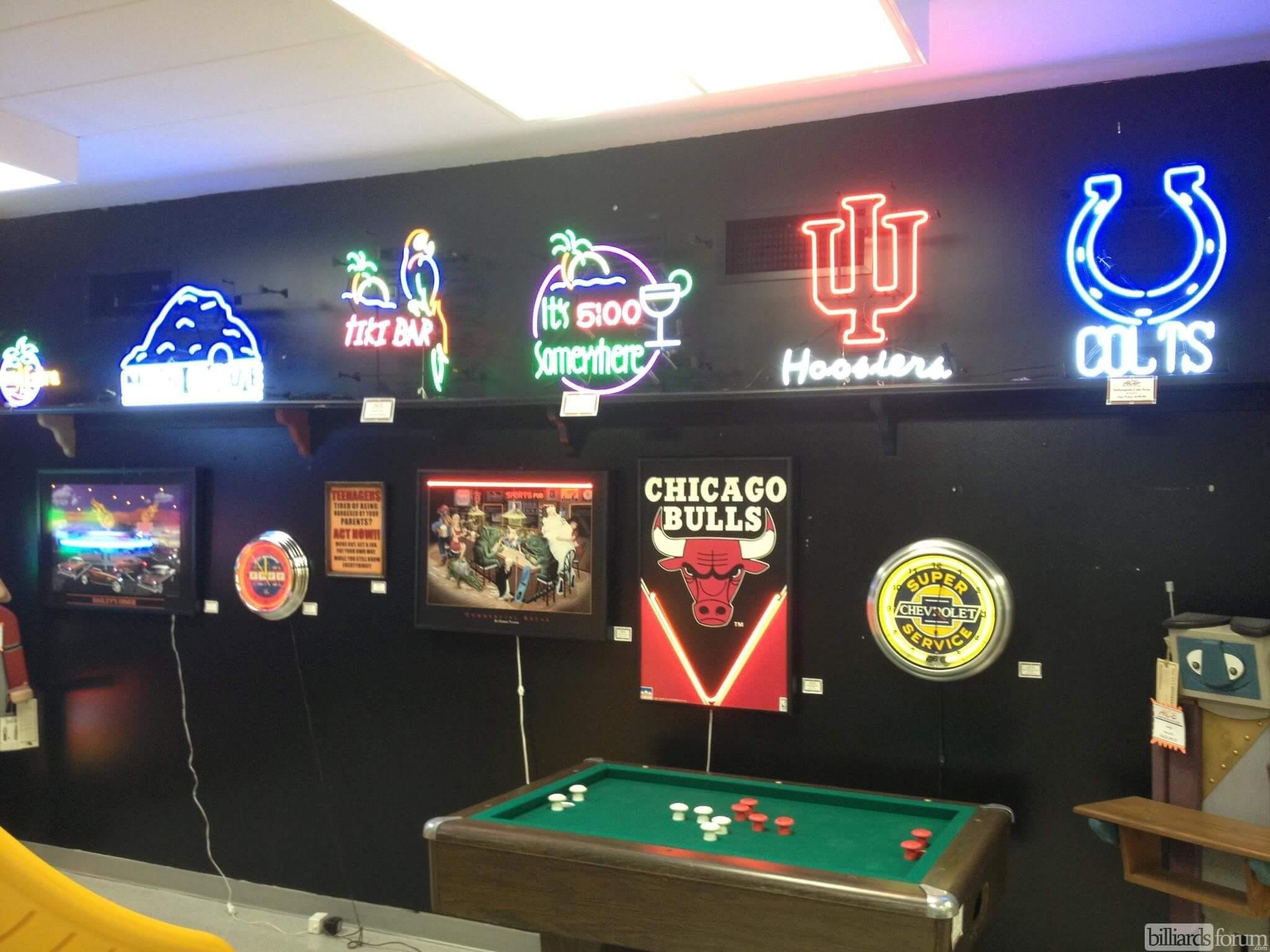 Ace Game Room Gallery Fort Wayne Within Billiard Wall Art (Image 1 of 20)