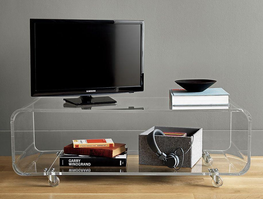 Acrylic Lucite Tv Stand, Acrylic Lucite Tv Stand Suppliers And For Most Recent Acrylic Tv Stands (Image 2 of 20)