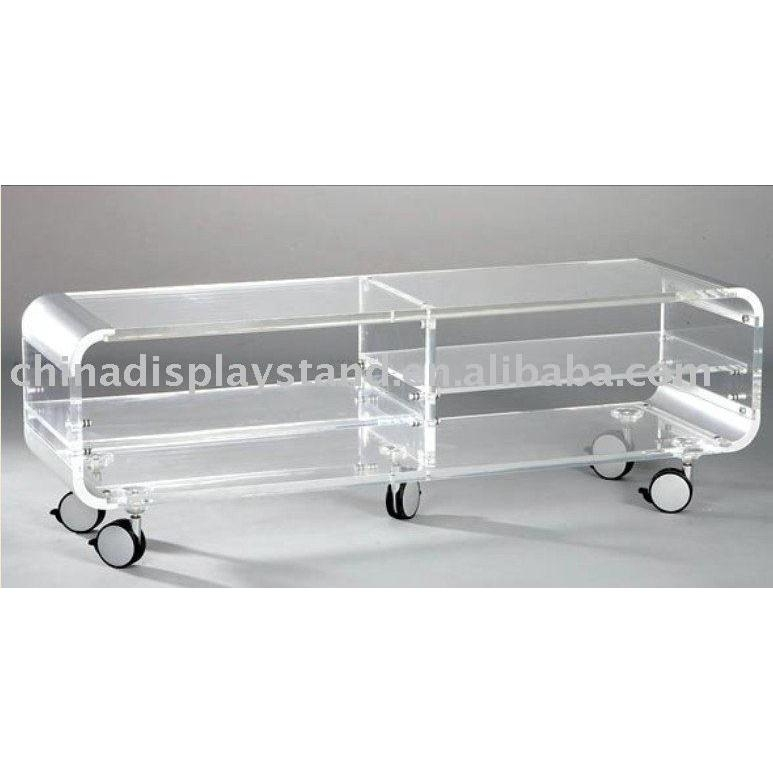 Acrylic Tv Stand,acrylic Tv Table U2013 Buy Acrylic Tv Stand Regarding 2017 Acrylic  Tv