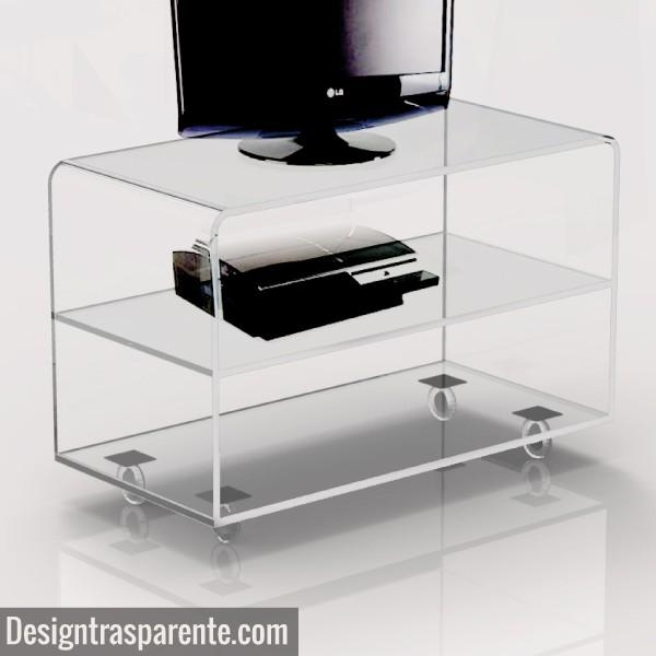 Acrylic Tv Table, Acrylic Tv Table Suppliers And Manufacturers At In Latest Clear Acrylic Tv Stands (Image 2 of 20)