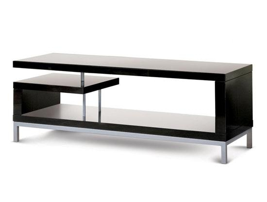 Add Some Style Into Your Living Room With The Poundex Tv Stand In Recent Sleek Tv Stands (Image 4 of 20)