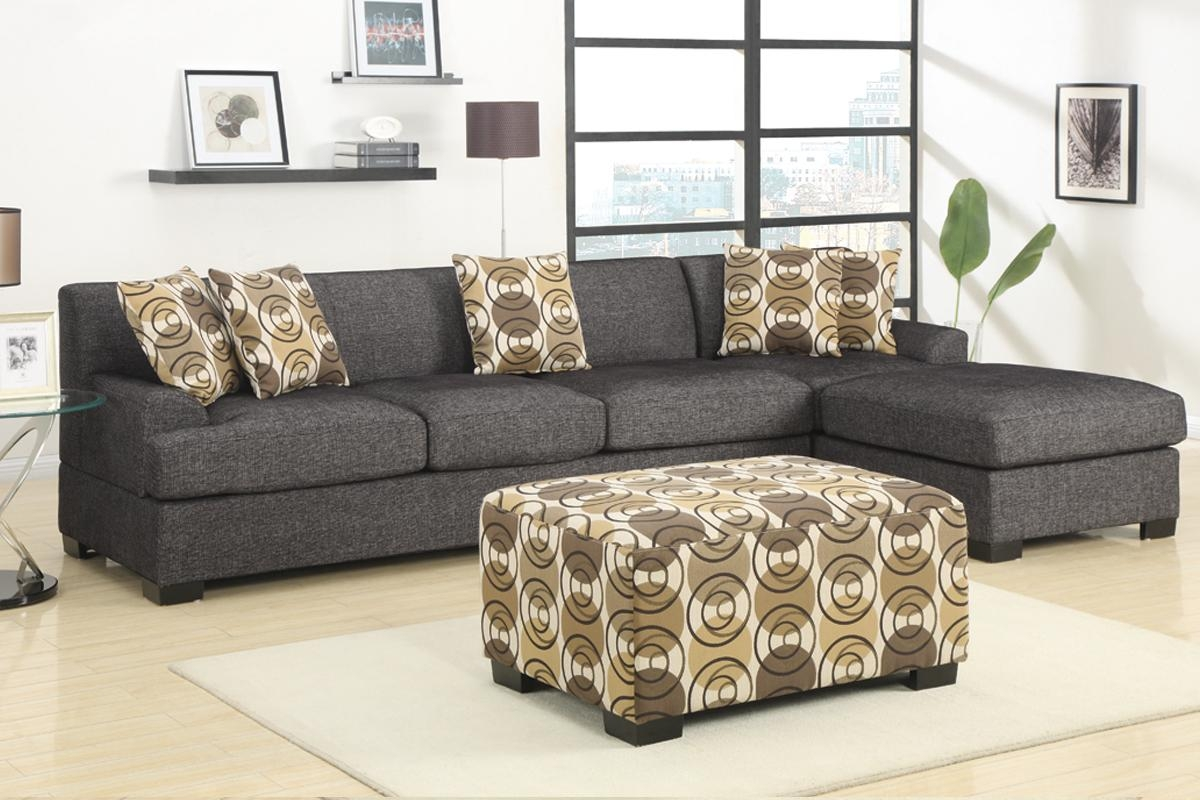 Admirable 2 Piece Sectional Sofas With Chaise Flooding Interior Pertaining To Small 2 Piece Sectional Sofas (Image 4 of 23)
