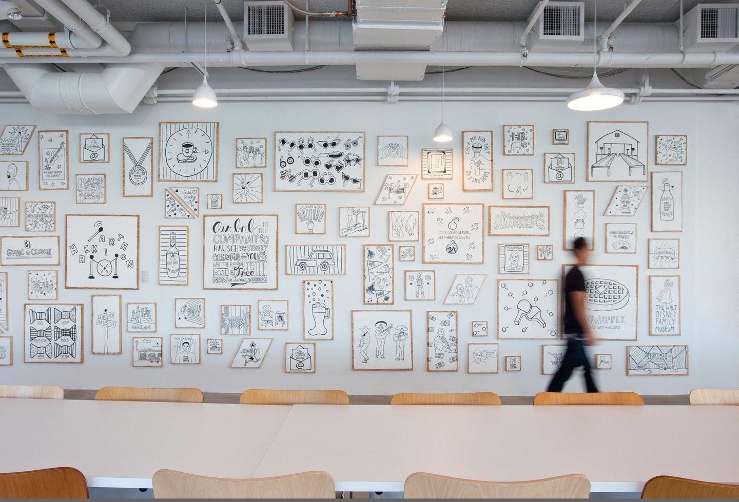 Airbnb Culture Wall – Custom Spaces Throughout Wall Art For Office Space (View 9 of 20)