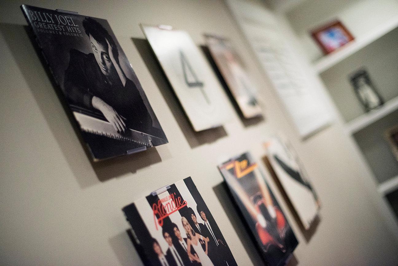 Albummount Record Album Display Adjustable Wall Mount Or Regarding Album Cover Wall Art (View 11 of 20)