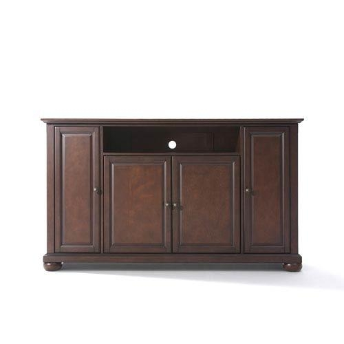 Alexandria 60 Inch Tv Stand In Vintage Mahogany Finish Crosley Within 2018 Mahogany Tv Stands (Image 1 of 20)