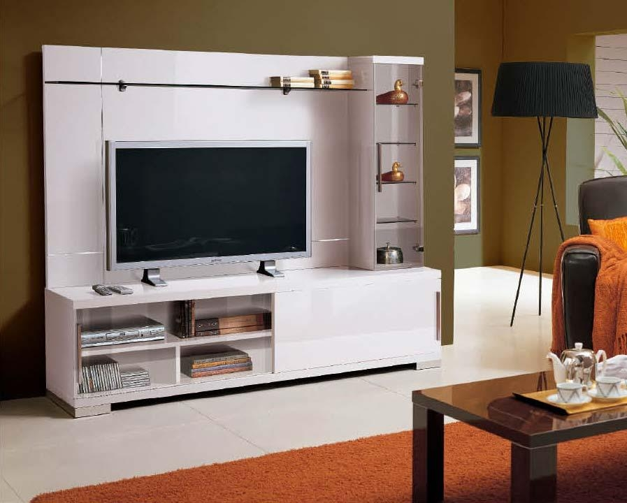 Alf Capri Wall Unit White Lacquer Alf Capri Wall Unit Tv Within Most Recently Released Tv Entertainment Wall Units (Image 1 of 20)