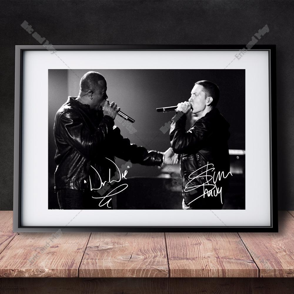 Aliexpress : Buy Eminem Live Music Vintage Retro Posters And In Eminem Wall Art (View 13 of 20)