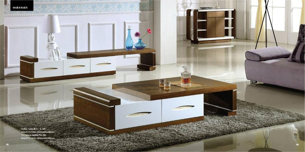 Aliexpress : Buy Living Room Coffee Table And Tv Cabinet Set Intended For Most Up To Date Tv Cabinet And Coffee Table Sets (Image 1 of 20)