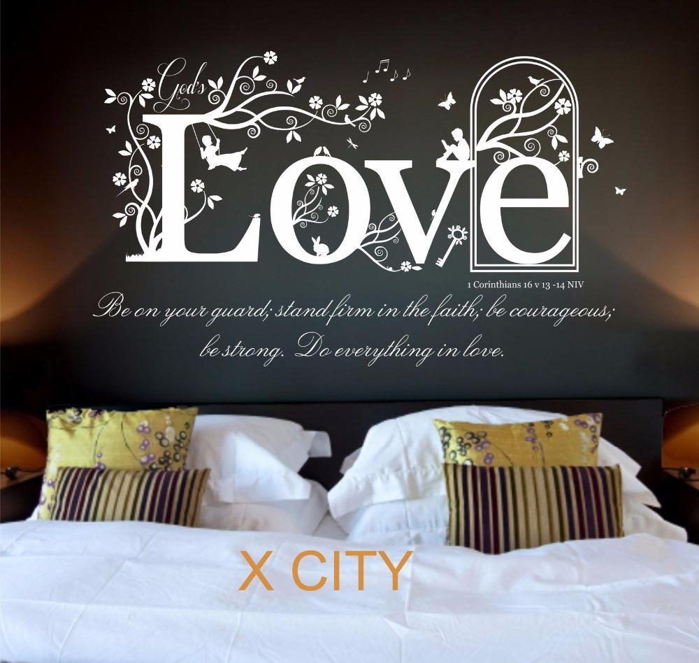 Aliexpress : Buy Love The Shield Of Faith 1 Corinthians 16 V In 1 Corinthians 13 Wall Art (Image 4 of 20)