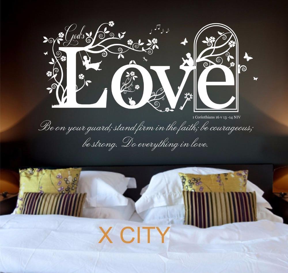 Aliexpress : Buy Love The Shield Of Faith 1 Corinthians 16 V In 1 Corinthians 13 Wall Art (View 7 of 20)