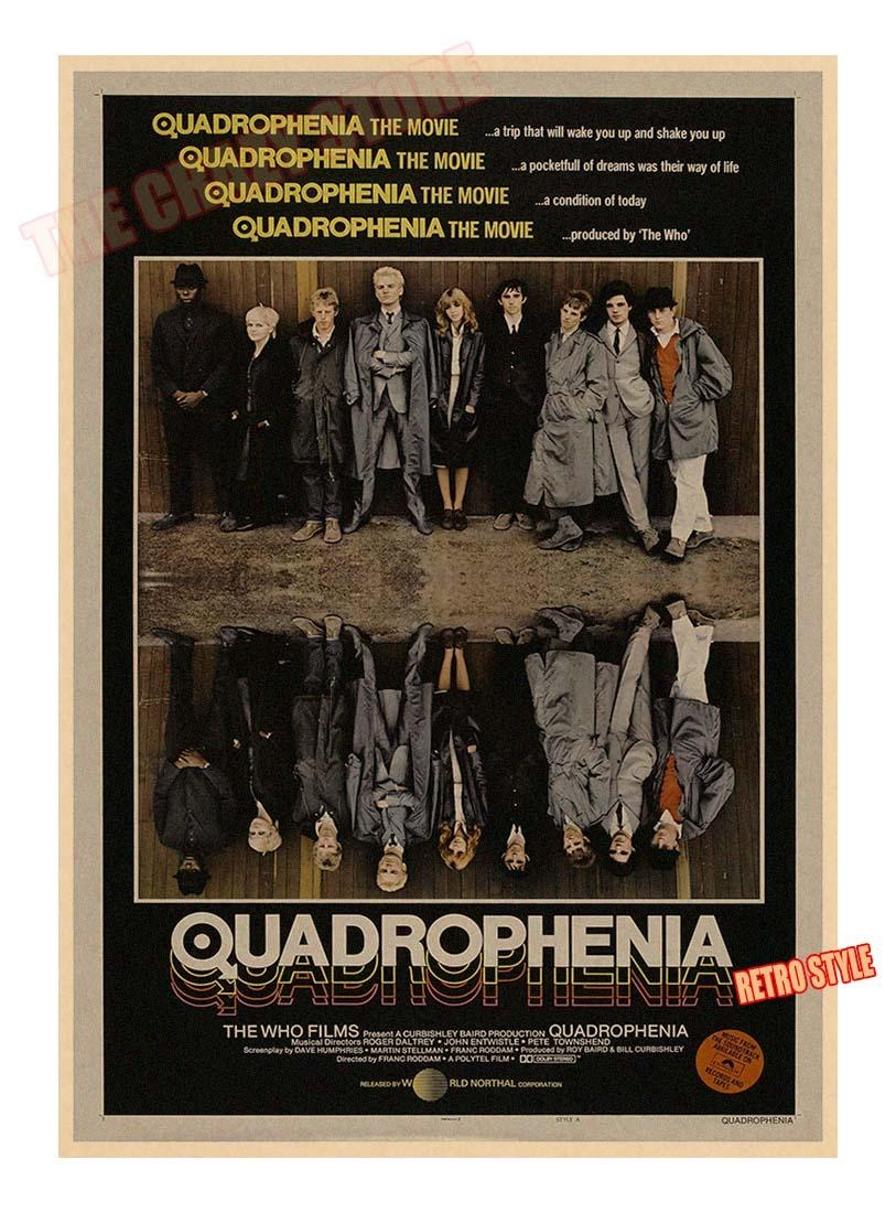 Aliexpress : Buy Quadrophenia The Who Rock Music Movie Poster Regarding Quadrophenia Wall Art (View 22 of 23)