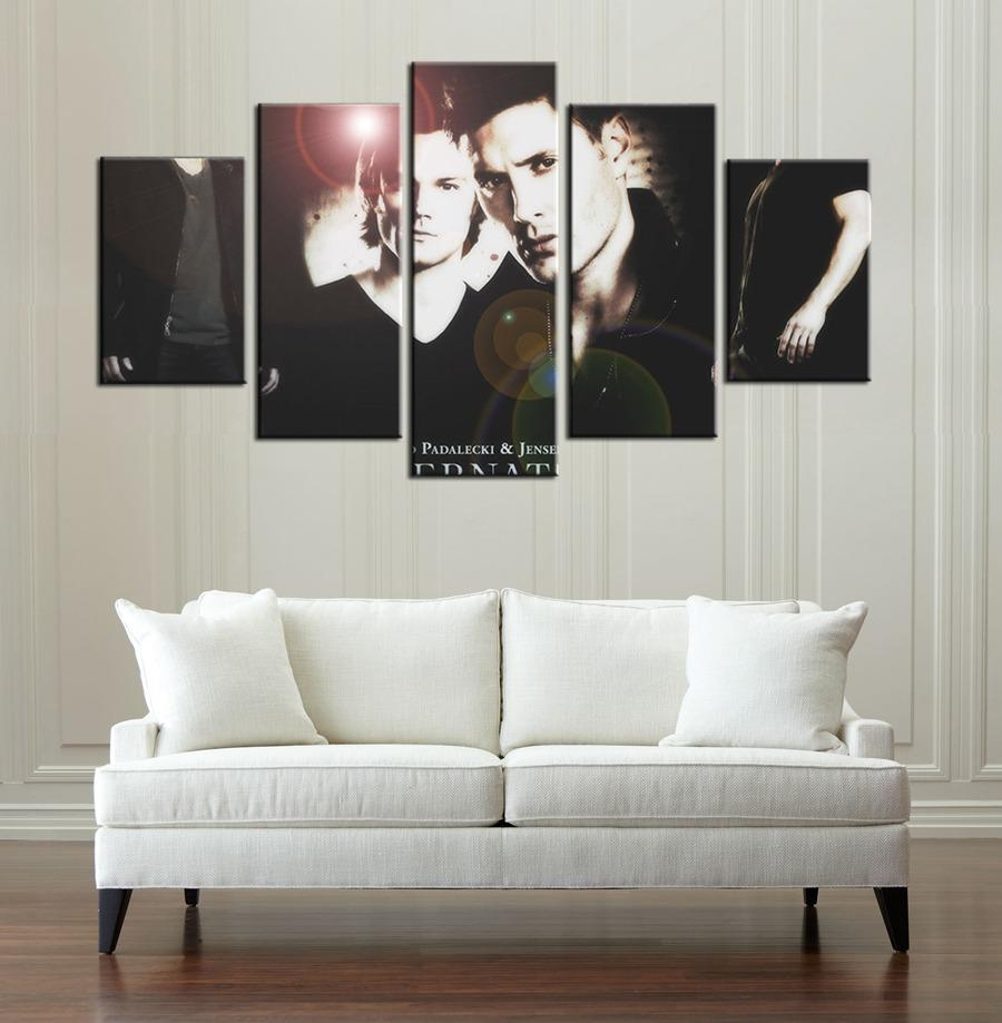 Aliexpress : Buy Spn Supernatural Tv Drama Program Wall Art With Supernatural Wall Art (Image 4 of 20)
