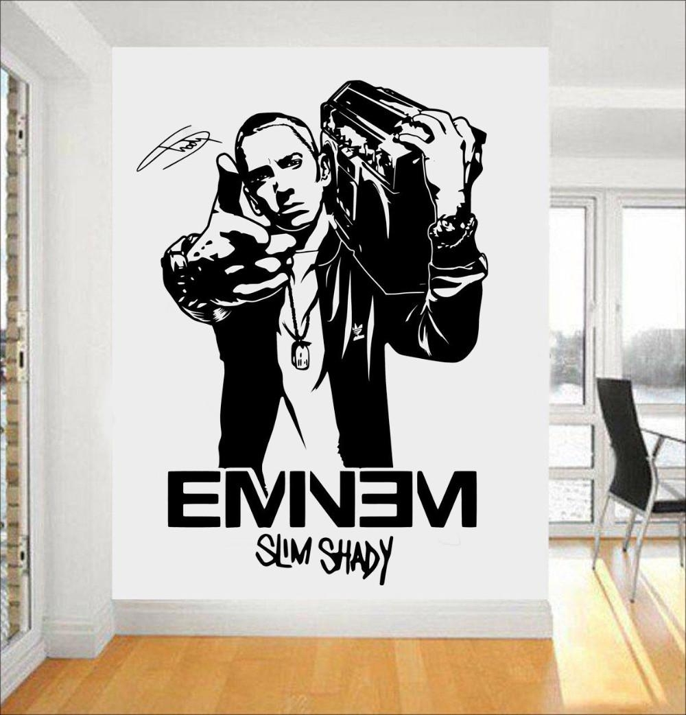 Featured Photo of Eminem Wall Art
