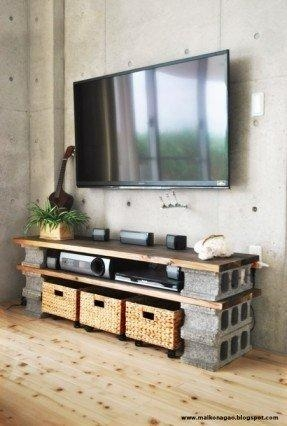 All Wood Tv Stands – Foter In Most Up To Date Tv Stands With Baskets (Image 3 of 20)
