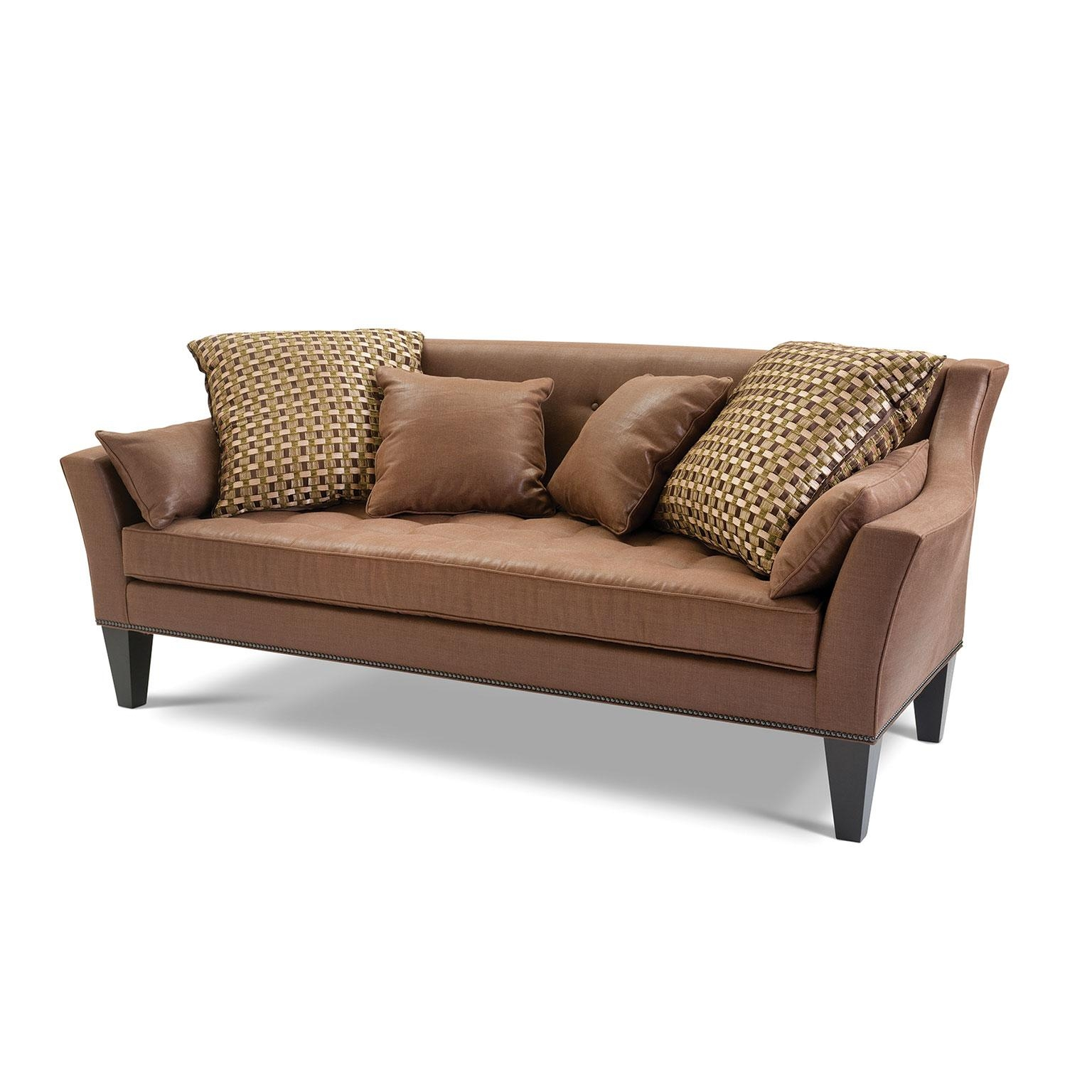 Allan Knightupholstery | Sofas And Sectionals | Palm Beach Sofa On Regarding Wood Legs Sofas (Image 1 of 23)