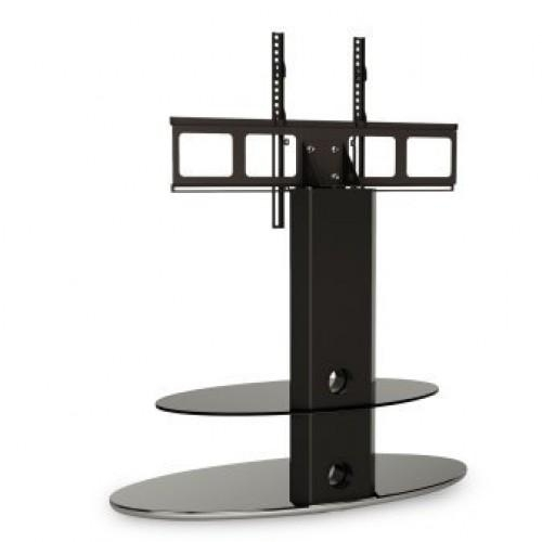 Alphason Grdb800/2 Pb Bracketed 2 Shelf Stand Black – Tv Stands Within Most Current Bracketed Tv Stands (Image 4 of 20)