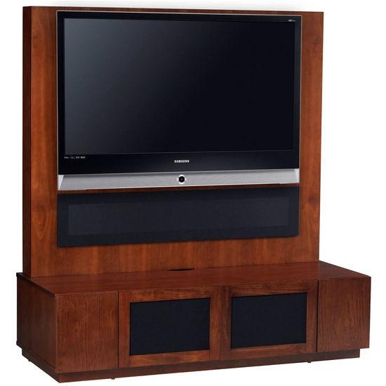 Altra Furniture Plasma Stand With Back Panel Tv Mount – Free Regarding Newest Tv Stands With Back Panel (Image 3 of 20)
