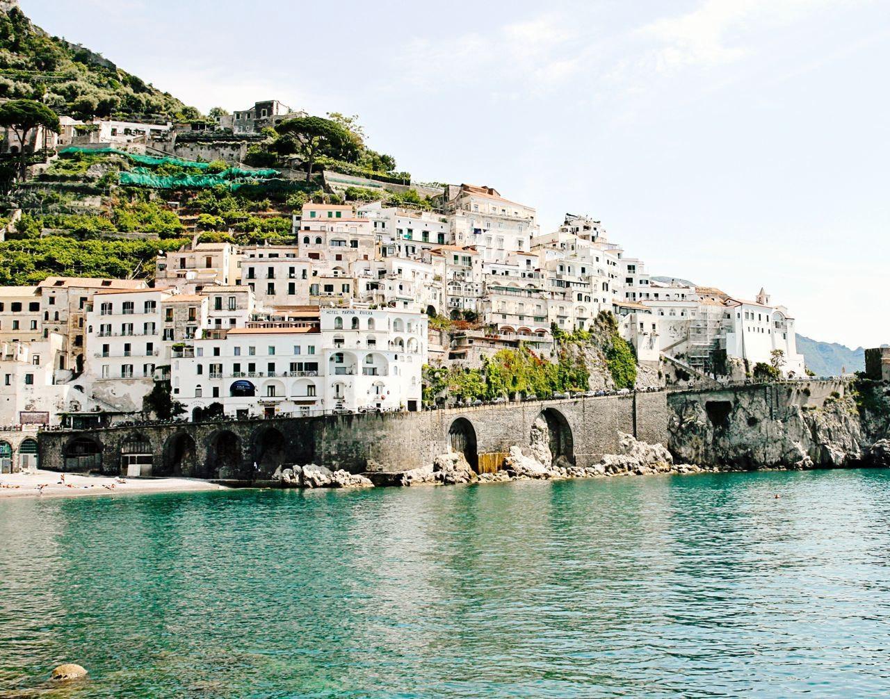 Featured Image of Italian Coast Wall Art