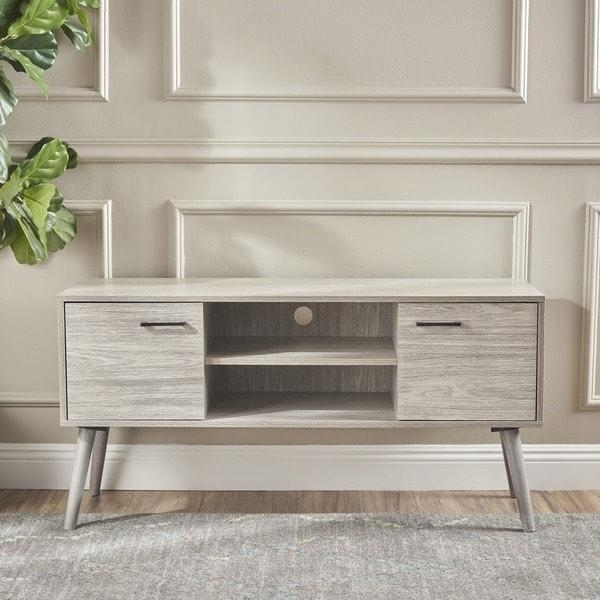 Amarah Mid Century Modern Wood Tv Standchristopher Knight Home For Most Popular Wooden Tv Stands (Image 5 of 20)