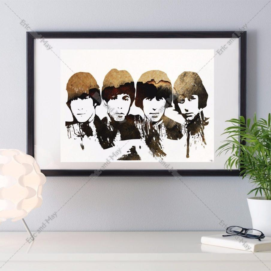 Amazing Beatles Wall Art Canvas The Beatles Large Wall Beatles Within Album Cover Wall Art (View 8 of 20)