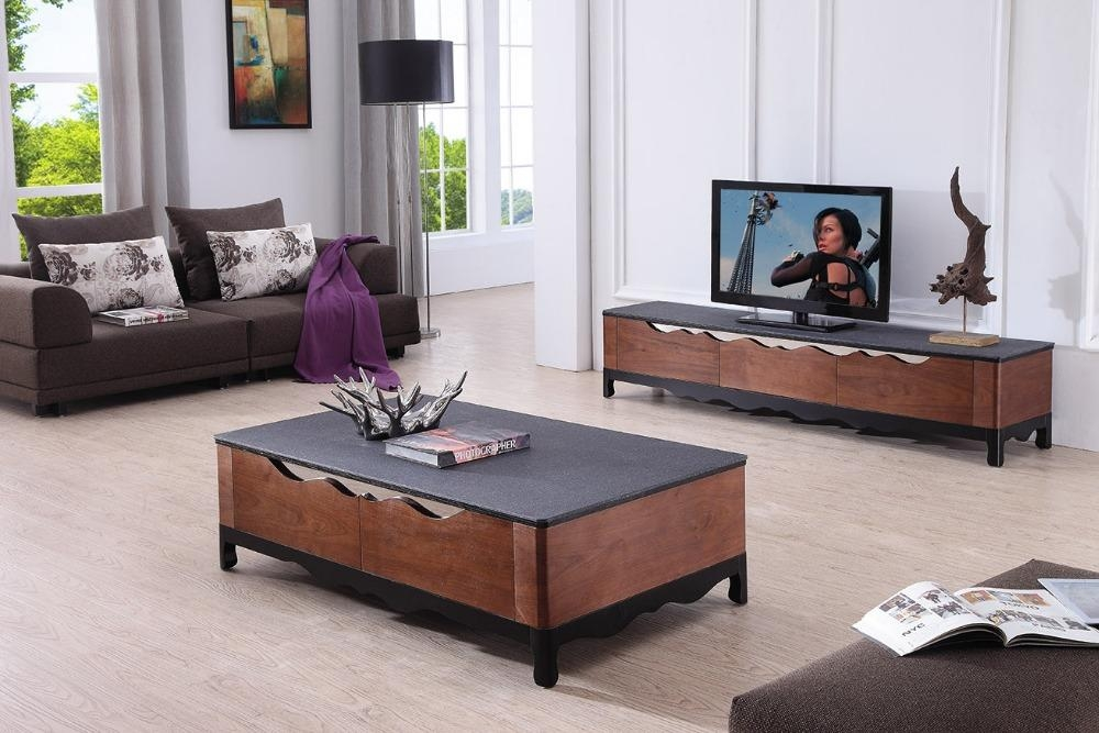 20 photos tv stand coffee table sets tv cabinet and stand ideas. Black Bedroom Furniture Sets. Home Design Ideas